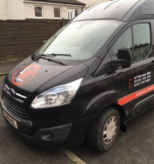 Edinburgh locksmith van