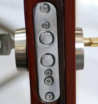 multi point locking door